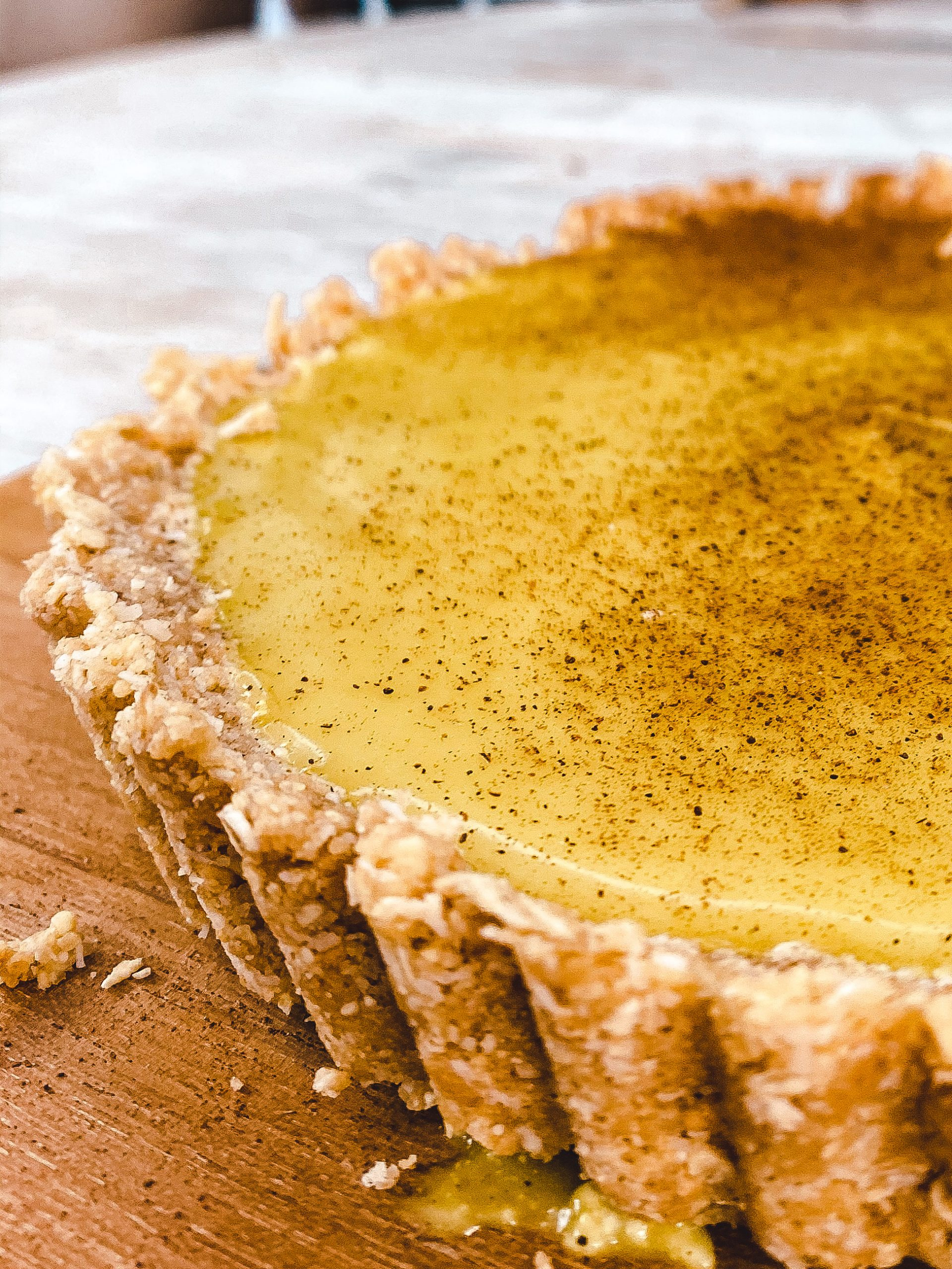 Vegan Custard Tart