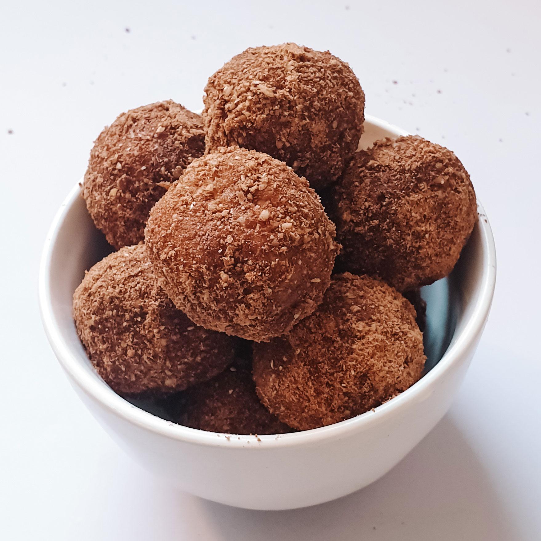 Vegan milo bliss balls