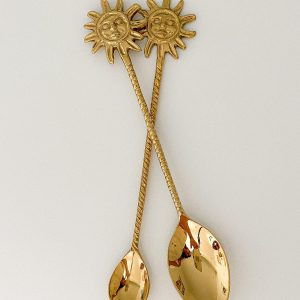 sunshine brass teaspoon dessert spoon