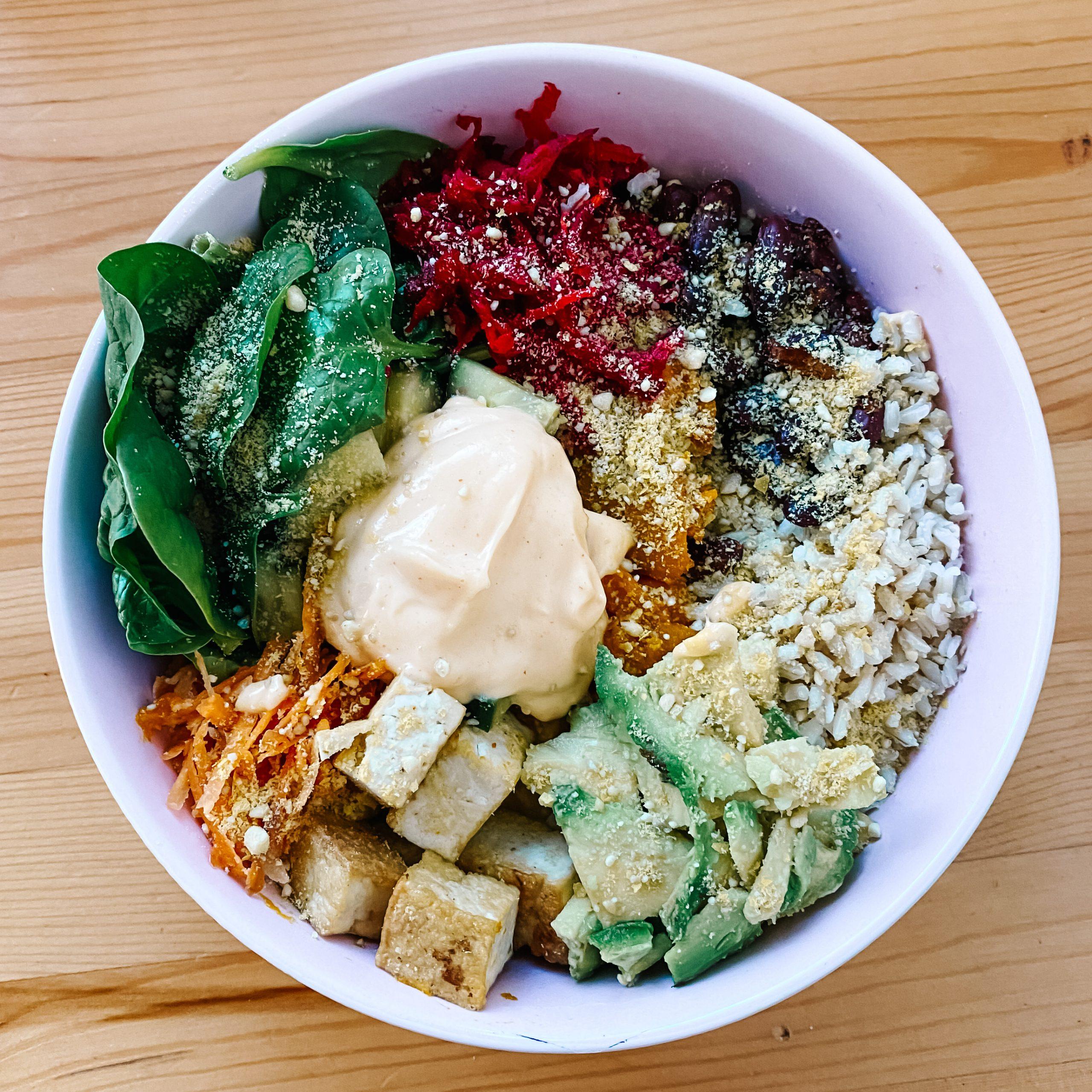 Easy healthy buddha bowl