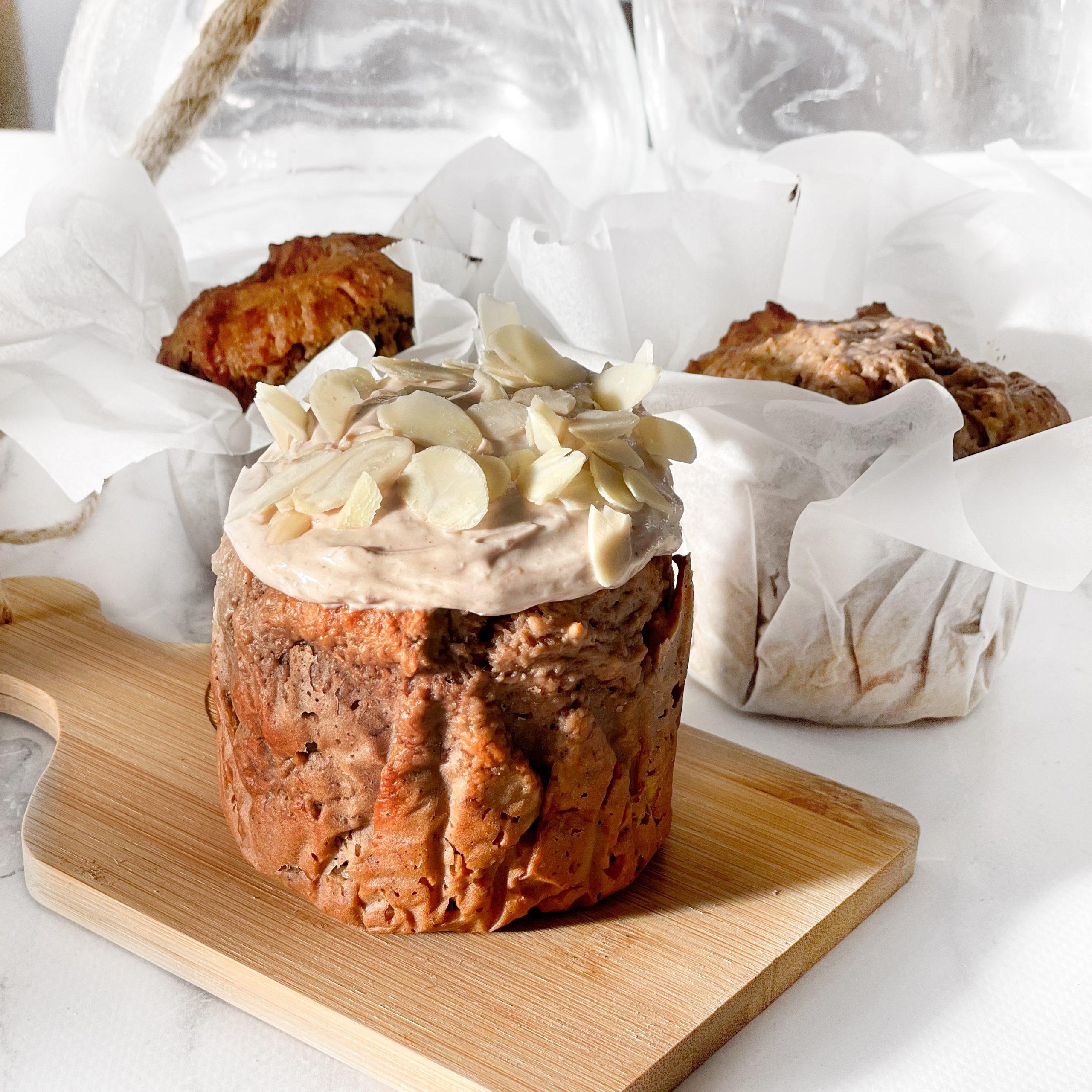 Jumbo Choc-Caramel Muffins