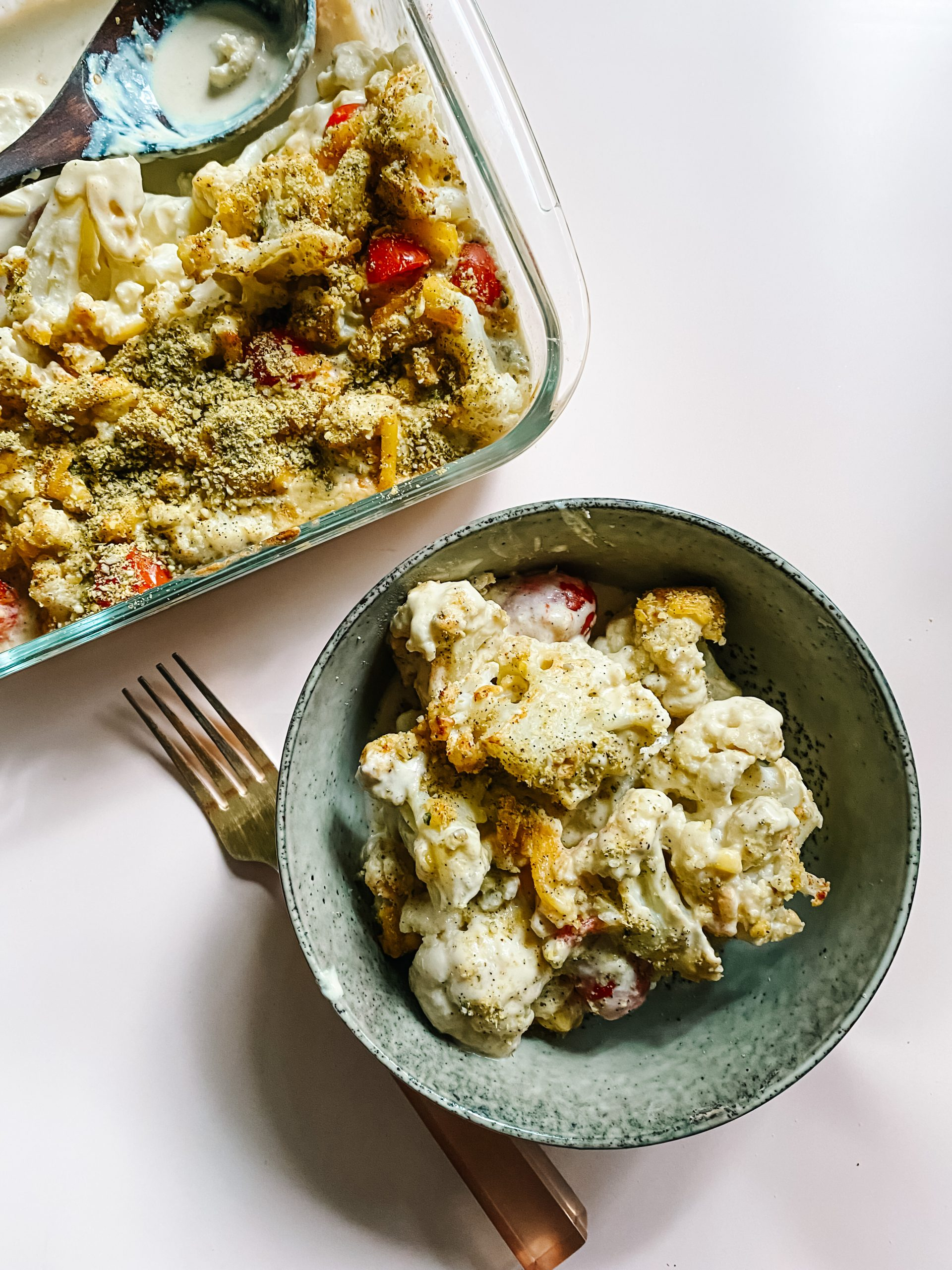 Creamy Vegan Cauliflower Bake